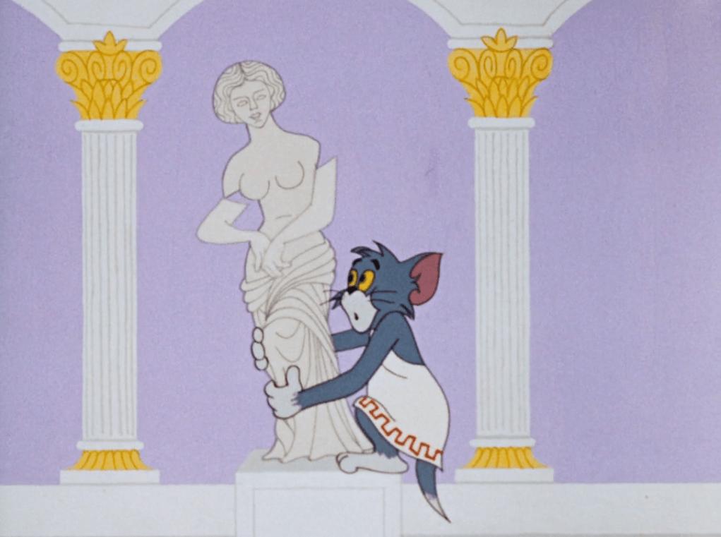 Ο Τομ κυνηγάει τον Τζέρι στην Ακρόπολη του 1961